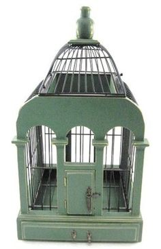 Vintage Victorian Style Bird Cage Caged Bird Feeders, Antique Bird Cages, The Caged Bird Sings, Vintage Ladder, Shabby Chic Antiques, Bird Boxes, Vintage Birds, Beautiful Birds, Victorian Fashion