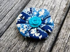 Fabric Lapel Flower  Flower Lapel Pin  Grooms Lapel by MayCheang