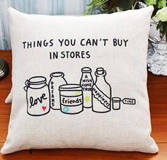 Throw Pillow Cases, Throw Pillows, Cotton Linen, Amazon, Stuff To Buy, Home Decor, Fashion, Cotton Sheets, Moda