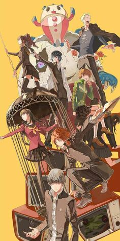 Persona 4, still my have persona :D