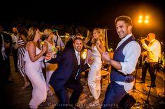 Dancing in the Night | Napa Valley Wedding | Wedding Photography at Brix Restaurant and Gardens | Vineyard Wedding | Christophe Genty Photography