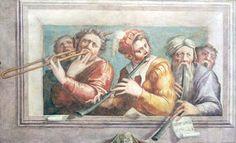 """MUSICIANS - Giorgio Vasari (1545)  Giorgio Vasari (Arezzo, 30 de julio de 1511 – Florencia, 27 de junio de 1574). Arquitecto, pintor y escritor italiano.  Considerado uno de los primeros historiadores del arte, es célebre por sus biografías de artistas italianos, colección de datos, anécdotas, leyendas y curiosidades recogidas en su libro """"Vida de los mejores arquitectos, pintores y escultores italianos"""" (Vite de' più eccellenti architetti, pittori, et scultori italiani, da Cimabue insino a'…"""