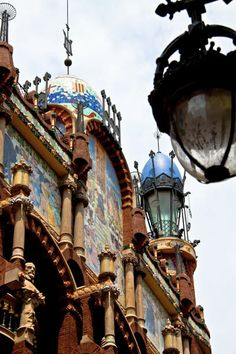 Palau de la Música Catalana, Architect Lluís Domènech i Montaner, built between 1905 and 1908, Barcelona, Catalonia | Europe