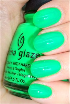 Love color, but not complementary on this skin tone...not that I'd actually wear most of the colors on my Nail board!
