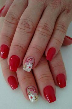 Bling Nails, Diy Nails, Mani Pedi, Pedicure, Finger, Nail Art Photos, Hand Drawn Flowers, Feet Nails, Gorgeous Nails