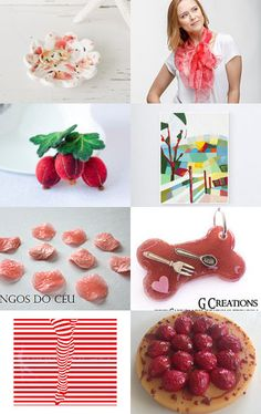 Red and white by Nana on Etsy--Pinned with TreasuryPin.com