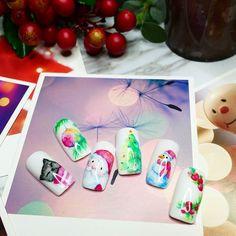 maybe xmas means a little bit more.  #homemadecolor #셀프네일 #cute #xmnails #winter #art #watercolor #beauty #ネイルサロン #christmas #naildesign #nailsalon #selfnail #nail #네일 #design #gelcolor #watercolornail #ネイルアート #pikapika_nails #ネイル #nailswag #nailart #수채화네일 #젤아트 #marblenails #gelnail #mirrornails #nailpolish #homemade