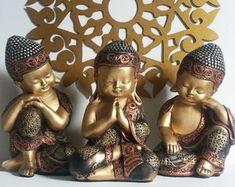 Meditation Altar, Healing Meditation, Little Buddha, Ethnic Home Decor, Chibi, Decoupage, Sculpture, Tibet, Plaster Crafts