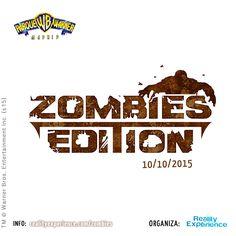 Por fin podemos confirmar que... ¡la 2ª edición de #ZombiesEdition ya está aquí! El 10 de octubre podrás ser protagonista del apocalipsis zombie que se avecina en Parque Warner... ¡no te lo puedes perder! Entradas a la venta aquí: http://entradium.com/es/entradas/zombies-edition-parque-warner-madrid