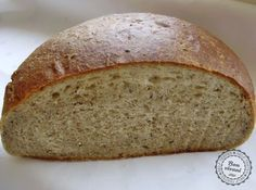 """Slovak Potato Bread"" - A zasa jeden chlieb. Slovak Recipes, Czech Recipes, Bread Recipes, Cooking Recipes, Bread And Pastries, Home Baking, Bread Rolls, Catering, Homemade"