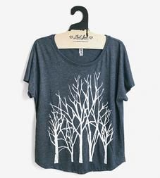 Branch DOLMAN SLEEVE T-SHIRT