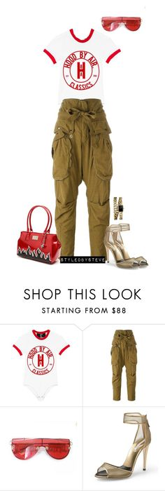 """""""Untitled #206"""" by styledbysteve ❤ liked on Polyvore featuring Faith Connexion, Tnemnroda, Diane Von Furstenberg and Chanel"""