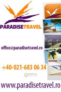Paradise Travel este prima aplicatie a unei agentii de turism din Romania, disponibila GRATUIT in App Store, ce contine ofertele marilor tour-operatori romani, dar si ofertele unor tour-operatori straini din Bulgaria, Cipru, Austria, Italia, Franta, Grecia si altele.    **Only in Romanian !**   **FARA RECLAME IN APLICATIE - AD-FREE**