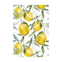 Life of Lemons Adhesive Art Print