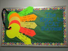 Keys to success on the FCAT bulletin board