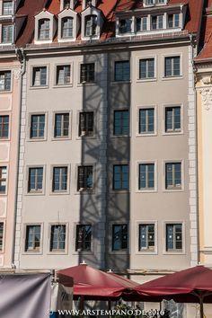 Schattenspiele am Jüdenhof in Dresden