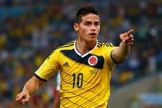 This is James Rodríguez.