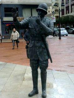 Estatuas en Burgos