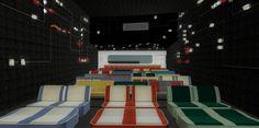 Projeção do espaço de cinema que inaugura sexta-feira (17.06), no Cine Caixa Cultural ©Divulgação