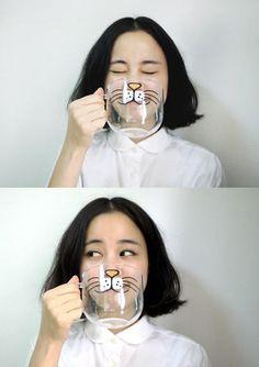Cat cup...