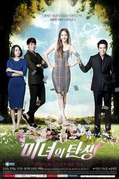 Birth of a Beauty [Korean Drama} (Joo Sang Wook, Han Ye Seul and Jung Gyu Woon) Watch Korean Drama, Korean Drama Series, Drama Tv Series, Drama Film, Joo Sang Wook, Han Ye Seul, Fated To Love You, Kdrama, Drama Korea