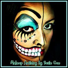 Face paint,Halloween makeup,