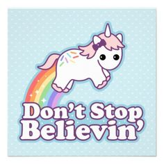 "Non beliver ""Unicorns are not re-"" Me ""YES THEY ARE"" shows picture"