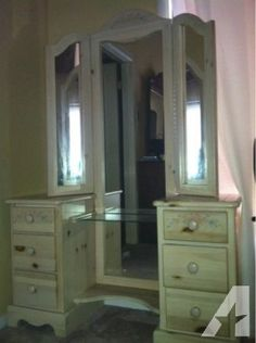 Beautiful Vanity   $120