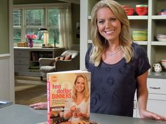 Our very own Melissa d'Arabian dishes on her first cookbook, Ten Dollar Dinners.