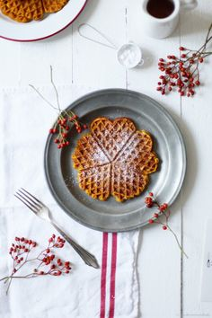 sweet pumpkin waffles