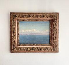 Édouard Alexandre Sain – hellethygesen.com Capri, Art Antique, Frame, 19th Century, Antiques, Canvas, Prints, Photography, Healthy
