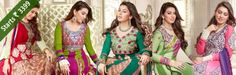 New Arrival:- #Shop for the latest #collection of Hansika Motwani heavy #Designer #Suits  & Get Up To 70% Off... Shop Now http://www.shoppers99.com/all_sales/hansika_motwani_heavy_anarkali_suits