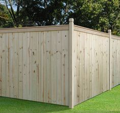 Outdoor Essential 6x8 Capped Stockade Private Fence