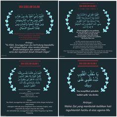 Doa Sebelum Salam 1-4