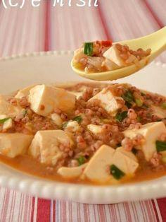 雑穀マーボー豆腐