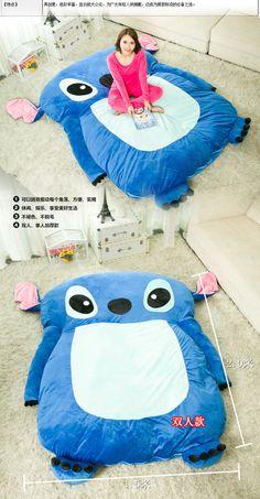 Visão de desenhos animados de enchimento sof Plush Totoro cama de casal / cama de dormir boneca de brinquedo e capa de colchão Pad Tatami em Capas de colchão & Pinças de Home & Garden no AliExpress.com | Alibaba Group