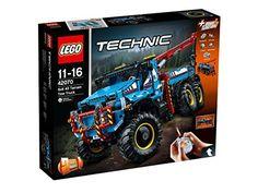 LEGO Technic 42070 - Allrad-Abschleppwagen: Amazon.de: Spielzeug