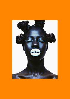 FASHION: 'Matty The Neon' - Model Maty Sal Features In Photographer Kazuma Takigawa's Captivating New Work For Superior Magazine - AFROPUNK