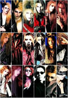 Stages of Yoshiki Love U Forever, Visual Kei, Halloween Face Makeup, Joker, Tumblr, Japan, Guys, Pictures, Fictional Characters