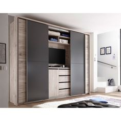 wardrobes sliding doors with tv - Google Search | Home | Pinterest ...