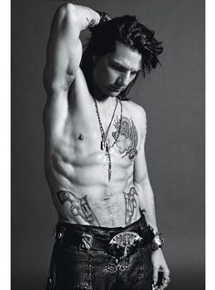 Tom Cruise in Rock of Ages- only movie I have found him attractive in but wow just wow :)