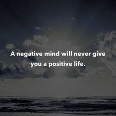 So true. I know negative people and they do not have a positive life at all Positive Quotes For Work, Work Quotes, Life Quotes, Positive Life, Mantra, Favorite Quotes, Best Quotes, Bond, Motivational Quotes