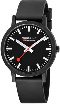7d9c1b6c7ed2 Mondaine Watch Essence  mondaine  watch  watches  essence  black  mens