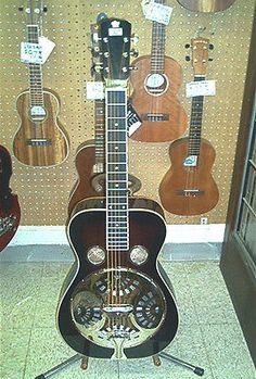 Recording King Rr60 Squareneck Dobro Style Resophonic Guitar Brown Sunburst - http://www.dobroguitar.org/for-sale/recording-king-rr60-squareneck-dobro-style-resophonic-guitar-brown-sunburst/20783/