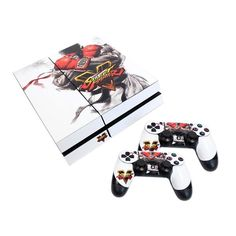 Street Fighter V PS4 Console Skin