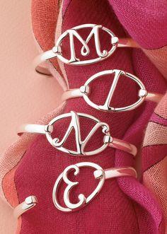 LeStage Initials bracelet clasps