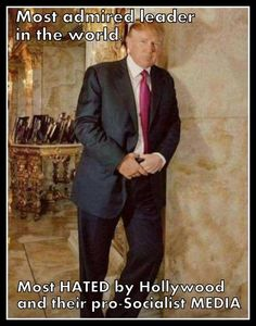 And 63 million has his back..CATCH OUR DRIFT 'lefties!'