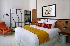 Located in Paris' 8th arrondissement, deluxe boutique hotel L'Hotel Du Ministere unveils 18 new suites by Parisian interior designer François Champsaur.