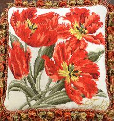 Elizabeth Bradley needlepoint - Tulip
