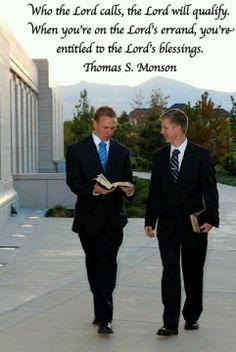Missionary - Elder Ross on the right is doing a great job in Mexico!